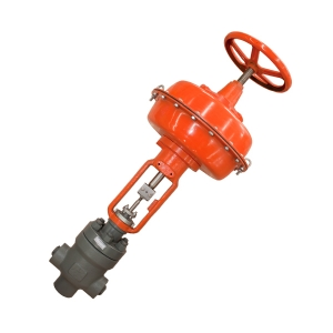 1'' 2500LB A182 F22 BW end diaphragm pneumatic with hand wheel desuperheater water control valve