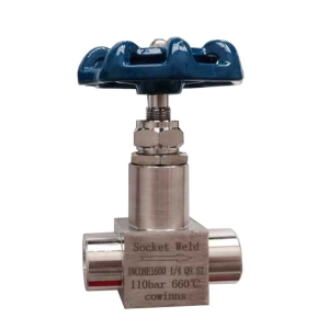 1/4'' inconel 600 SW 110bar needle valve