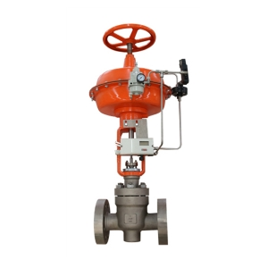 1'' 600LB A182 F22 RF end diaphragm pneumatic with hand wheel minimum flow recirculation control valve