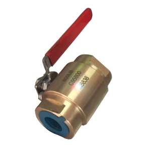 1'' 800LB  ASTM B148 UNS C95800 PTFE seat  SW full port floating level operated fire safety ball valve