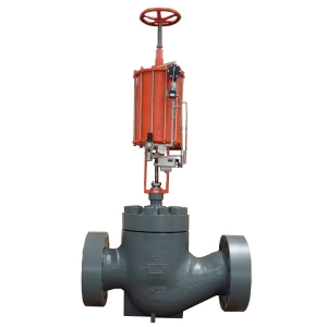 10'' 2700LB WC9 RTJ end high quality pneumatic control valve