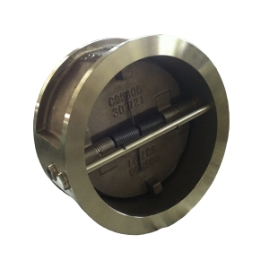 16'' 150LB ASTM B148 - C95800 wafer dual plate check valve