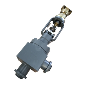3''3000LB A105 overall forged BW end high quality angle control valve