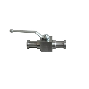 Ball valve activated with 2''3000psi B381 F2 RF flange floating handle