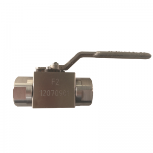 Handle operated 1/2'' 150LB ASTM B348 Gr. F-2 PTFE seat floating NPT connection 3 pc ball valve