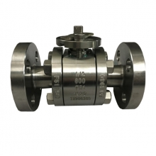 1/2'' 600LB  F51 RF full port floating bare stem ball valve