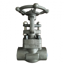 China 1/2'' A182 F11 1500LB SW gate valve factory