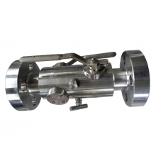 China 1'' 2500LB ASTM A 182 F316 RTJ connection level operated ball valve factory