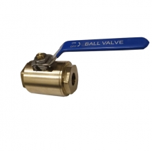 China 1'' 800LB  ASTM B148 UNS C95800 PTFE seat  NPT full port floating level operated ball valve factory