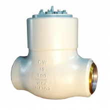 China 10'' 900LB WC6 High temperature high pressure seal BW check valve factory