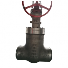 10 '' 900LB high pressure seal A217 WC6 with hand control, BW connection valve