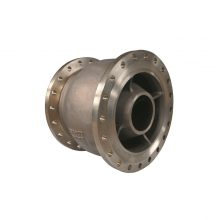Fabbrica della Cina 20'' 150LB C95800 RF connection axial flow/ Venturi check valve