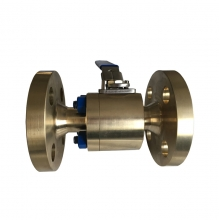 3/4'' 300LB ASTM B148 UNS C95800 aluminum bronze nickel RPTFE seat FF reduced port floating level operated ball valve