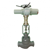 4'' 3500LB WCB BW end Rotork electrical actuator with hand wheel minimun flow circulation valve