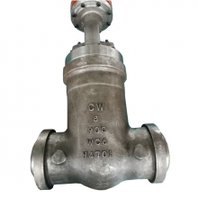 8'' 900LB  A217 WC6 High pressure High temperature BW end gate valve