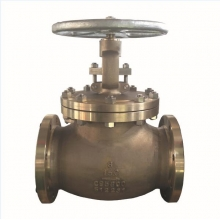 China 8'' C95800 150LB RF handle wheel globe valve factory