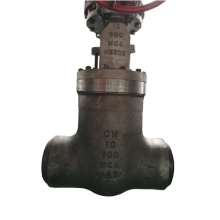 China CW-10'' 900LB High pressure seal high temperature A217 WC6 hand wheel operated BW connection gate valve factory