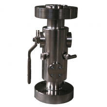 China Handle operated 2'' 2500LB ASTM A 182 F316 RTJ connection 3 pc double block and bleed ball valve factory