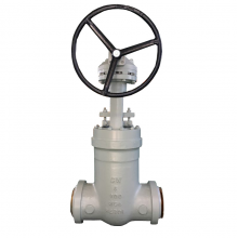 China WC6 High temperature high pressure seal BW gate valve factory