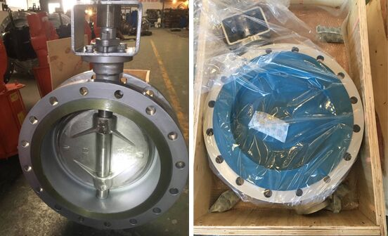 18''RF WCB Butterfly valve